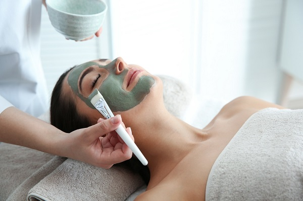 Person receiving Med Spa treatment